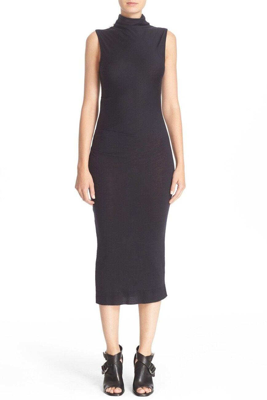 NEW Rag and Bone Francis Stripe Wool Bodycon Dress in schwarz - Größe XS
