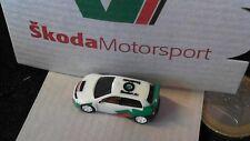 Skoda Motorsport Rennwagen 3D Pin Badge original Blister sehr selten und rar Rac