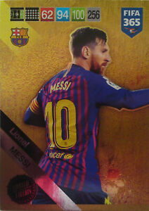 PANINI-ADRENALYN-XL-FIFA-365-2019-UPDATE-LIMITED-EDITION-MESSI-LIMITED