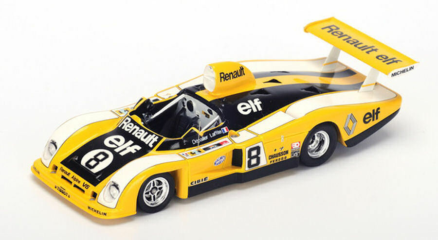 entrega gratis Renault Alpine A442 A442 A442  8 23th Lm 1977 P. Depailler   J. Laffite 1 43 Model  alta calidad general
