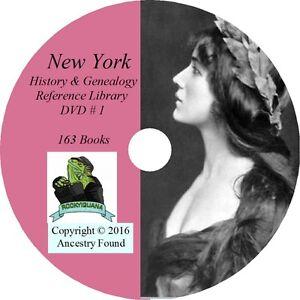 NEW-YORK-History-amp-Genealogy-163-Books-on-DVD-Ancestors-County-CD-NY
