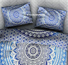 Ombre Mandala pillow cover Bohemian cushion cover 2 piece set