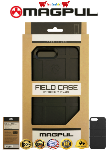 buy popular 5e3bf a8ed0 Magpul Field Case Cover for iPhone 8 Plus 7 Genuine Authentic USA Made Black