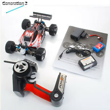 New Wltoys A959 2.4G 1/18 Vortex 4WD Electric RC Car Off-Road Buggy RTR Red