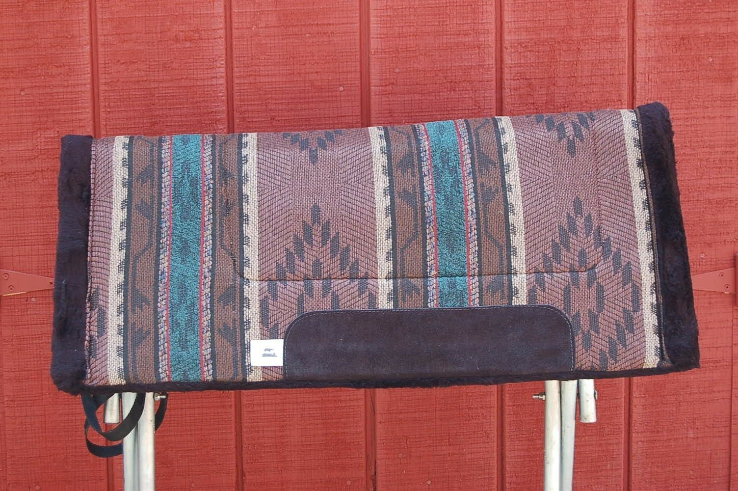 RIDERS CHOICE SADDLE PAD CHEROKEE CLAY FREE SHIP BLANKET NEW 32  MADE IN ALABAMA