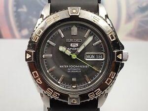 Uhr Armbanduhren Uhr Seiko 5 Sport Day/date Automatisch Ritter Uhren 7s36-00y0