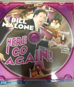 Bill-Malone-Here-I-go-Again-Volume-1-DVD