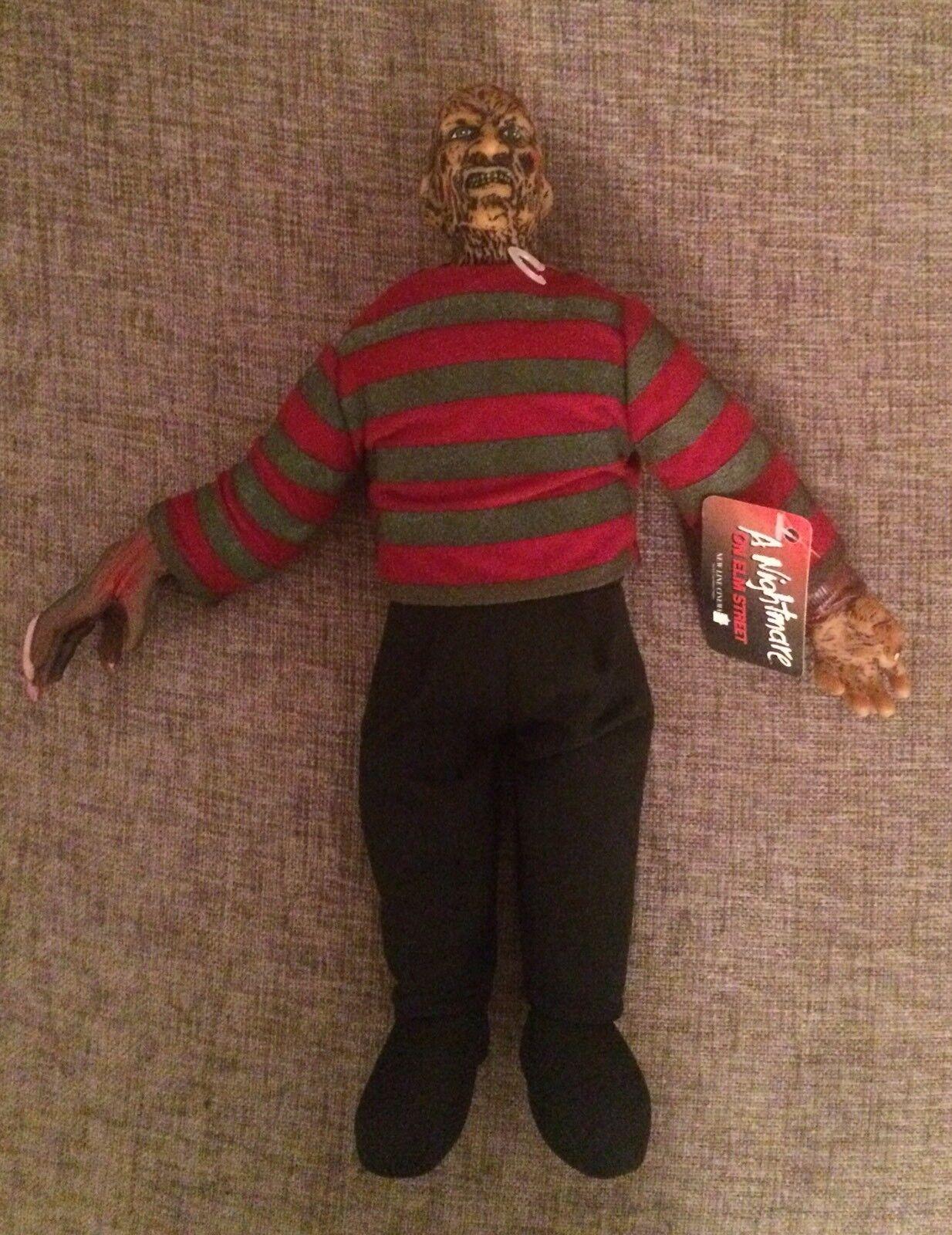 Rare Good Stuff Nightmare on Elm rue Frougedy Krueger  Figure Plush Doll  autorisation de vente de la marque
