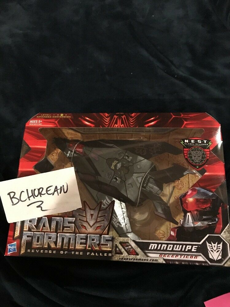 Transformes Movie ROTF Revenge Of The Fallen Voyager Class Mindwipe New