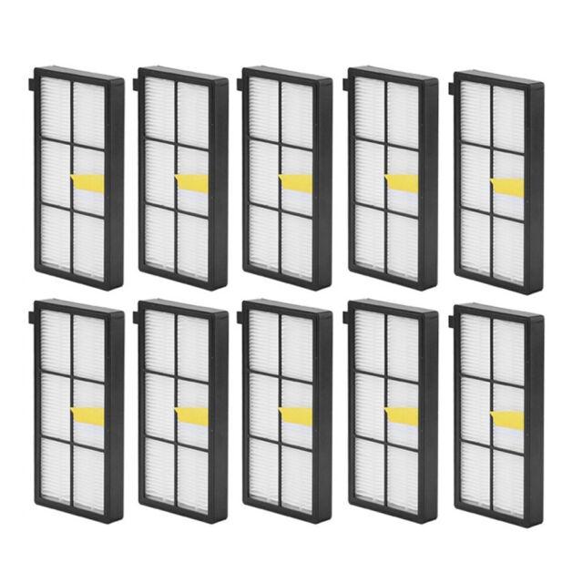 HEPA Filter Set für iRobot Roomba 800 866 876 886 900 980 Ersatzteil Austausch