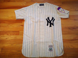 best cheap fb326 3260b Details about New York Yankees Mickey Mantle #7 Jersey Mitchell Ness Lands  End ** Rare **