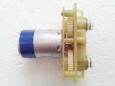 2pcs Mabuchi 380 Double-Worm DC Gear Motor Gear Box