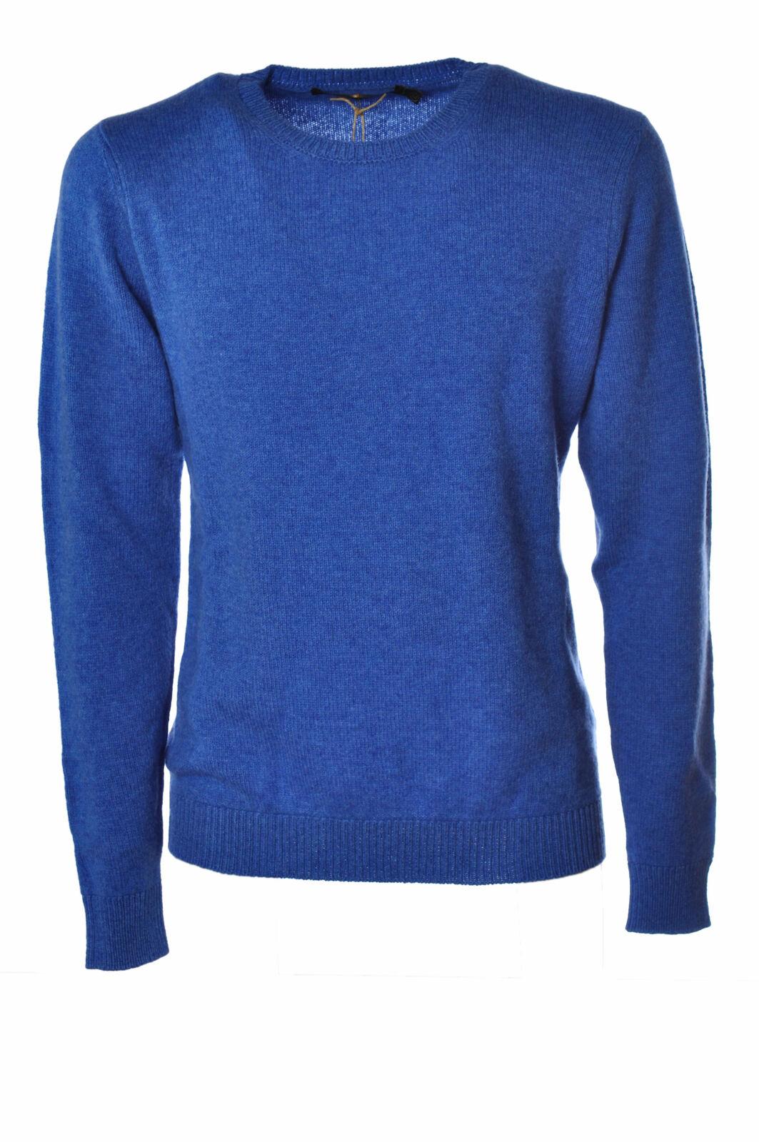 Irish Crone  -  Sweaters - Male - Blau - 2508526N173733