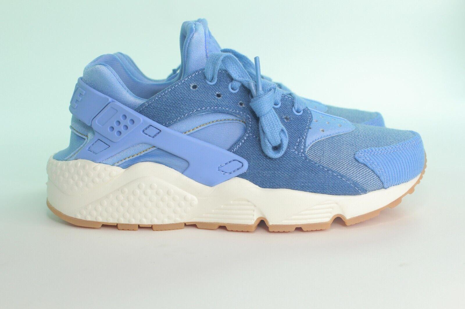 Nike Luft Huarache Run Se Damen Größe 6.0   Dezember Sky   Neu Selten