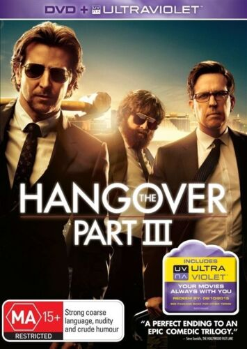 1 of 1 - The Hangover : Part 3 (DVD, 2013) - Like New & FREE POSTAGE