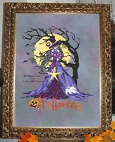 Complete Xstitch Materials gothic Halloween Rl44 By Passione Ricamo