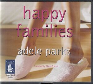 Adele-Parks-Happy-Families-2CD-Audio-Book-Unabridged-Romantic-Comedy-FASTPOST