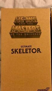 Les maîtres de l'univers Filmation Ultimate Motu Skeletor Super 7 Prêt à être expédiés!