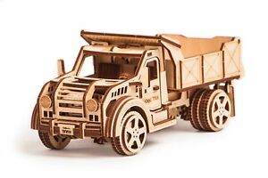 Wood-Trick-American-Truck-Car-Mechanical-Wooden-3D-Puzzle-Model-Assembly-DIY-Kit
