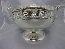 Walker & Hall Bowl / Schale Sterling Silber 925 Sheffield um 1921 punziert