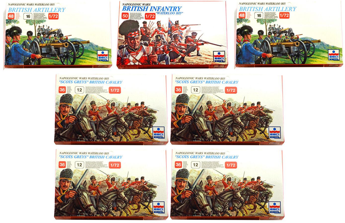 ESCI ERTL 1 72 scale Napoleonic British Bundle - 7 mib sets a  124 value