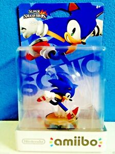 Nintendo Sonic Amiibo Us Usa Na Version New Super Smash Bros First Print Ebay