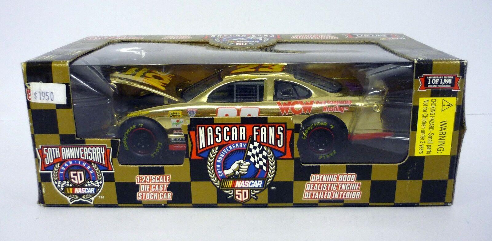 RACING CHAMPIONS NASCAR WCW 1 24 Die-Cast MIB Lance Hooper 1998