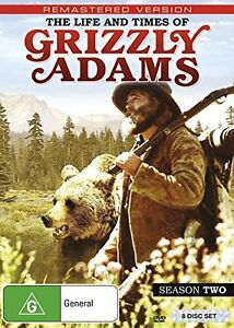 THE-LIFE-amp-TIMES-OF-GRIZZLY-ADAMS-SEASON-2-DVD-UK-Compatible-sealed