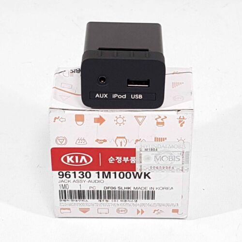 961301M100WK AUX /& USB Jack Audio For KIA FORTE CERATO 2010-2012