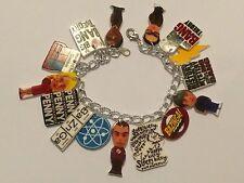 The Big Bang Theory Handmade Bracelet Plastic Charms Sheldon Leonard Howard Raj
