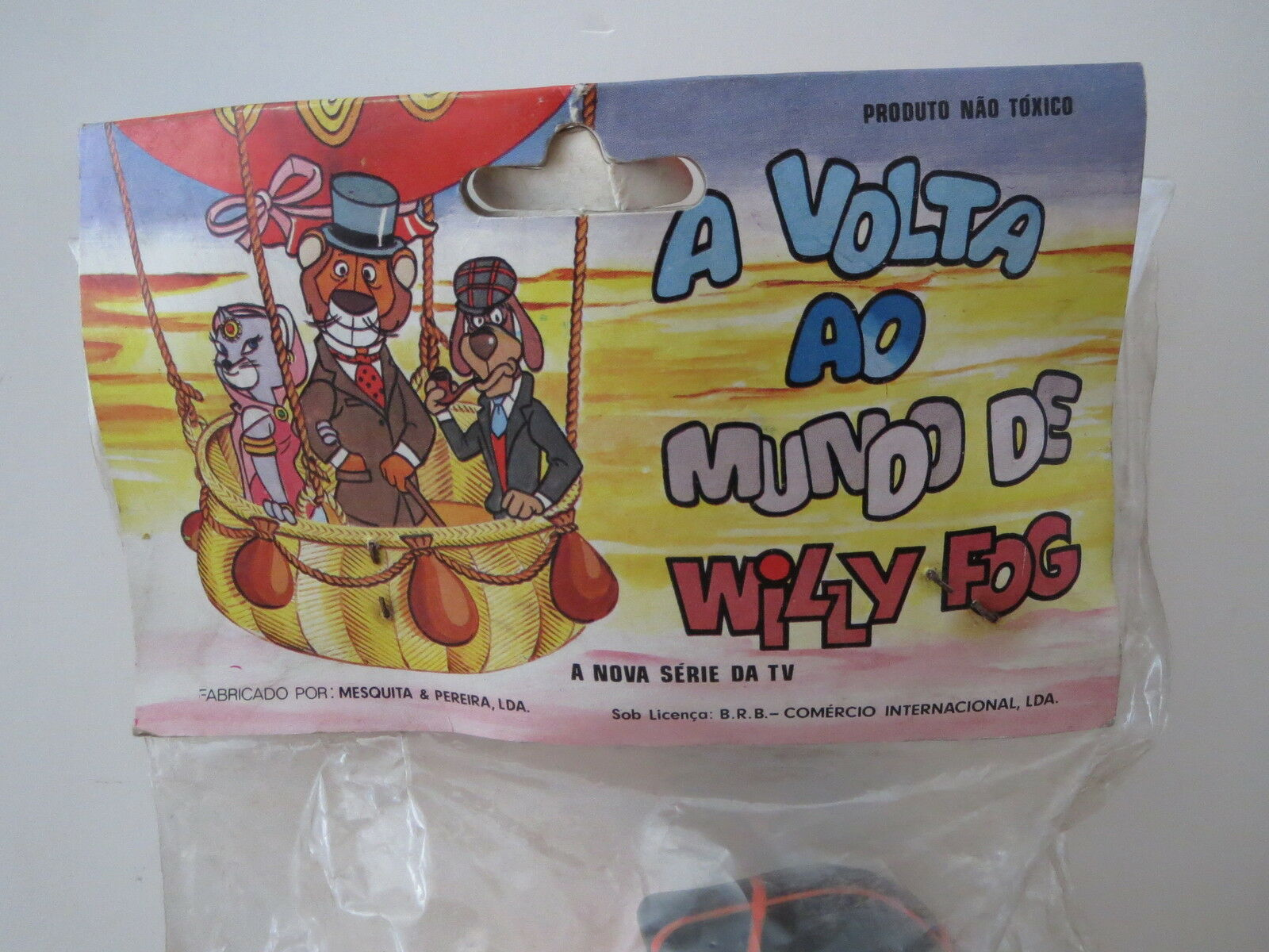 POUET sqeeze WILLY FOG squeaky squeaky squeaky BRB rubber PHILEAS FOGG portugal MISB mib NEUF 80 8ea4c3