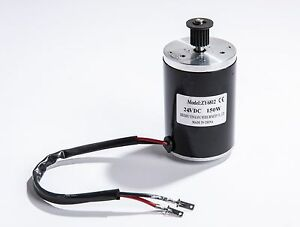 replacement spare 135w 150w motor f scooter Razor E100 (3M Belt Drive Models)