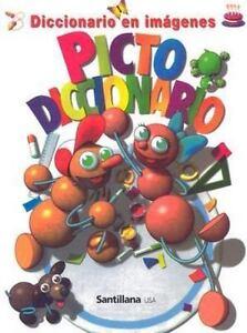 Pictodiccionario-Spanish-Edition-Santillana-Used-Good