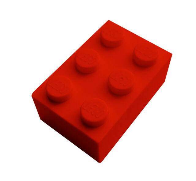 3002 Lego Brick 2x3 Blue x24