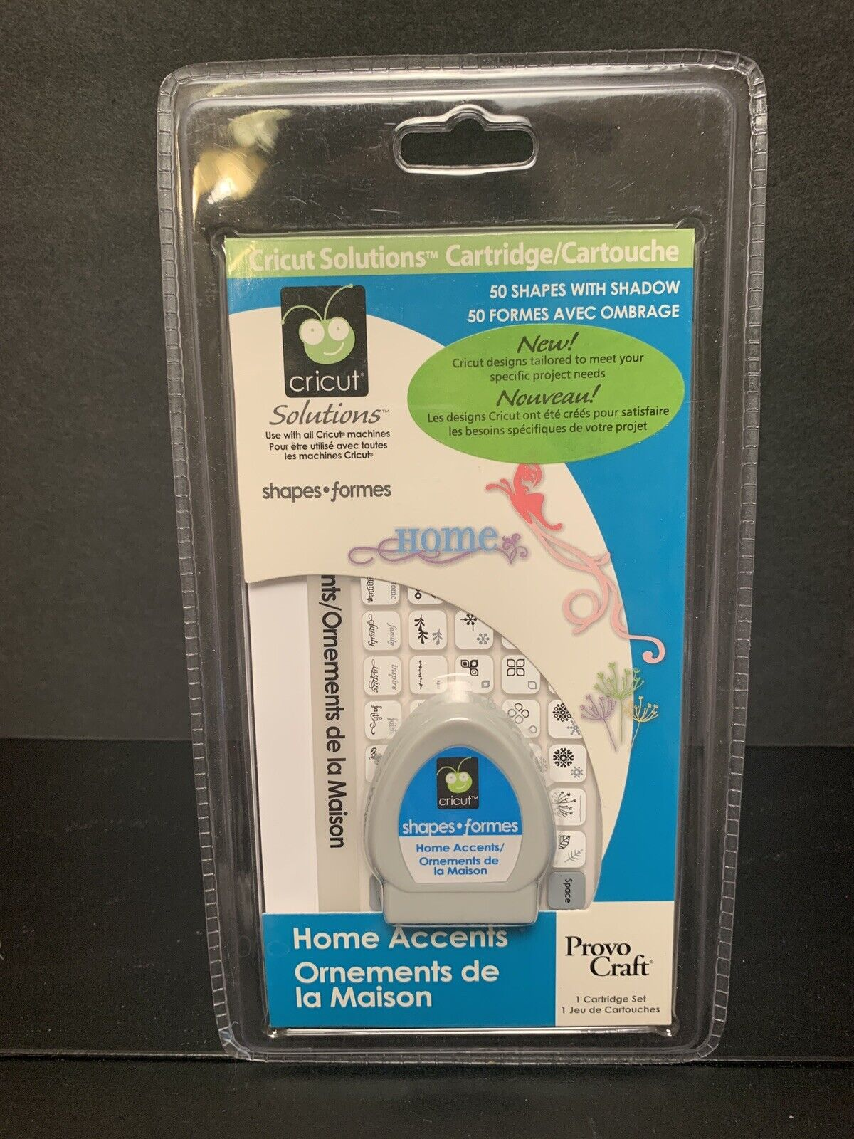 Cricut Home Accents 50 Shapes Cartridge Limited Edition For Sale Online Ebay