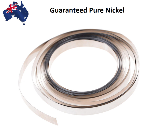 2m 0.15x5mm Nickel Plated Steel Sheet Strap Tape Strip For Battery Spot Welding