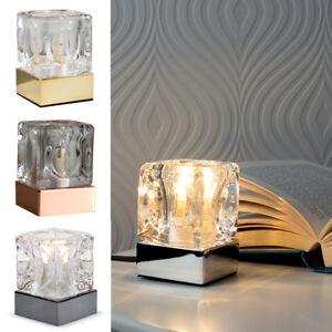Glass touch table lamp dimmer ice cube bedside desk office dimmable image is loading glass touch table lamp dimmer ice cube bedside mozeypictures Gallery