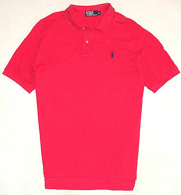 Ralph Lauren Poloshirt Rot Gr. XL