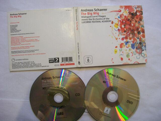 ANDREAS SCHAERER/HILDEGARD LERNT FLIEGEN The Big Wig  – 2017 German CD + DVD Set