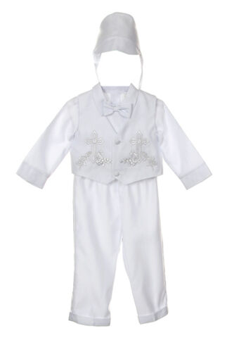 Baby Toddler Boy Communion Christening Baptism Outfit Suit XS S M L XL 0-36Month