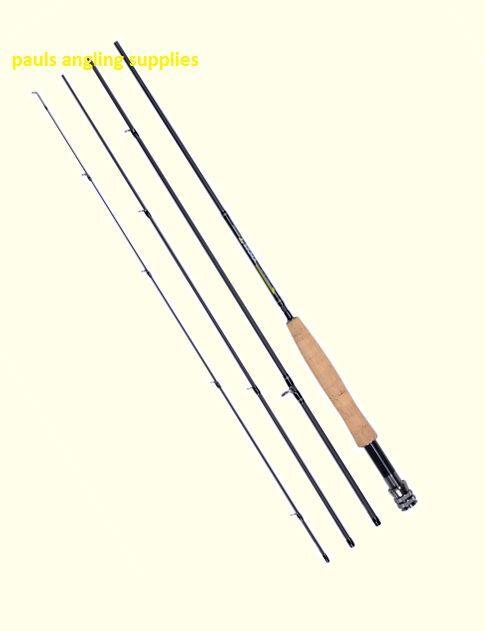 SKP Sigma Fly Fishing Rod & Carry Case Carbon Fibre & Cork Handle