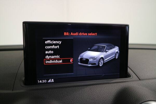 Audi A3 2,0 TDi 150 Sport Cabriolet S-tr. billede 13