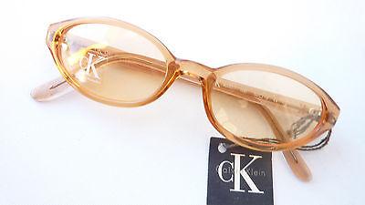 Iniziativa Calvin Klein Ck Occhiali Da Sole Arancione Bicchieri Designer Versione Marchio Tinteggiato Taglia M-mostra Il Titolo Originale