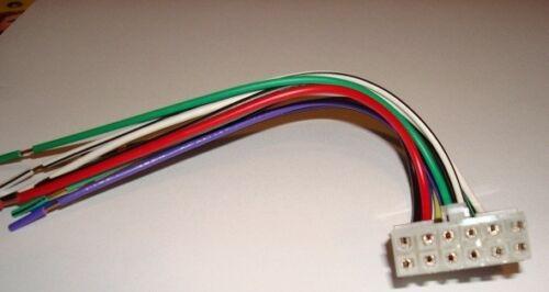 PIONEER 12 pin CD//Radio Wire Harness DEH 245 435 42 48 52 525 p6