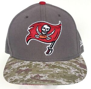1608c7cf3 Tampa Bay Buccaneers Hat 59Fifty New Era On Field Camo Salute ...