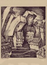 1919-21 World/'s First Fantasy Magazine Der Orchideengarten # 3 Cover Poster