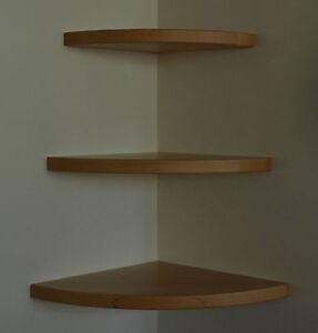 massivholz wandboard eckregal regal eiche buche erle kiefer ahorn weiss schwarz ebay. Black Bedroom Furniture Sets. Home Design Ideas