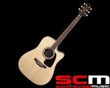 RRP$799 TAKAMINE TGD51CE NAT ACOUSTIC/ELECTRIC GUITAR WITH PICKUP NATURAL FINISH