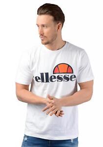 1a1f2eb0 Details about Ellesse T-Shirt - Mens Prado Tee in White