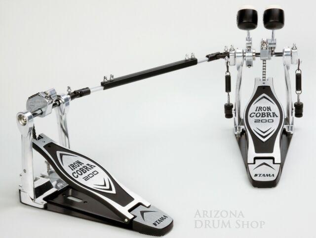 Tama Iron Cobra 200 HP200PTW Power Glide Double Bass Drum Pedal - NEW w/Warranty